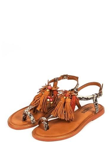 Nemesis Shoes Sandalet Leopar